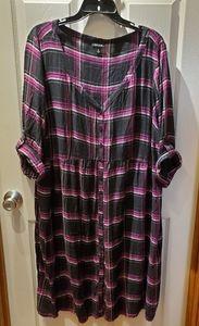Torrid size 2 challis dress